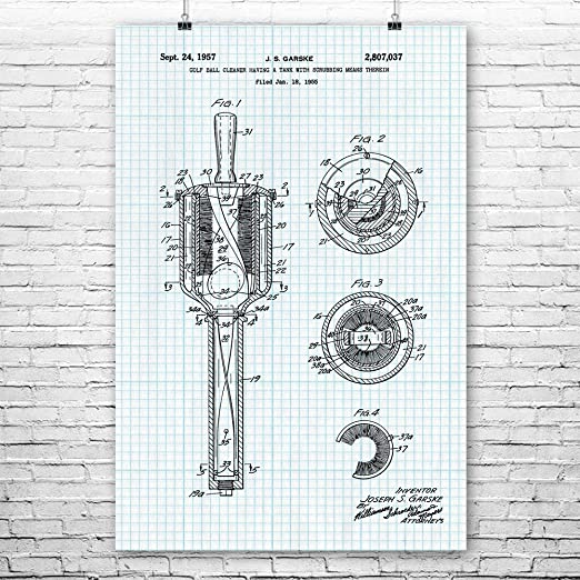 Amazon Com Patent Earth Golf Ball Washer Poster Print Golf Art Golf Gifts Golf Art Print Golf Decor Golf Wall Art Golf Caddie Gift 9 Inch X 12 Inch Posters Prints