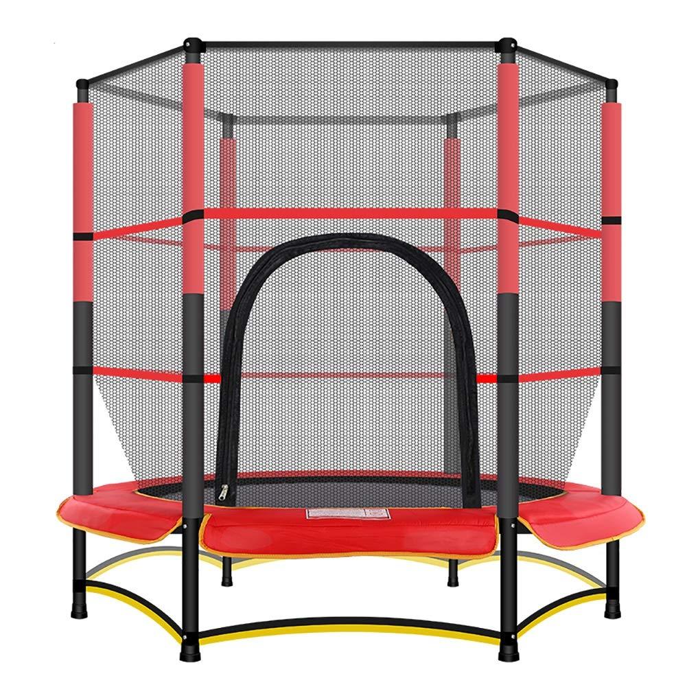 Trampolin Fitness mit Sicherheits Pad Max Belastung 50 kg, Trampolin Trainer Tragbare Trampolin Cardio Workout Fitness