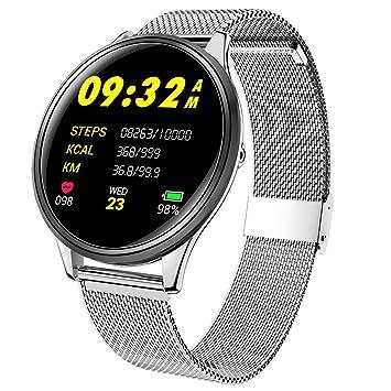 Montre Connectee Intelligente Homme Femme Smartwatch Sport Bracelet Connecté Étanche IP67 Écran Couleur Cardiofréquencemètre Cardio Fitness