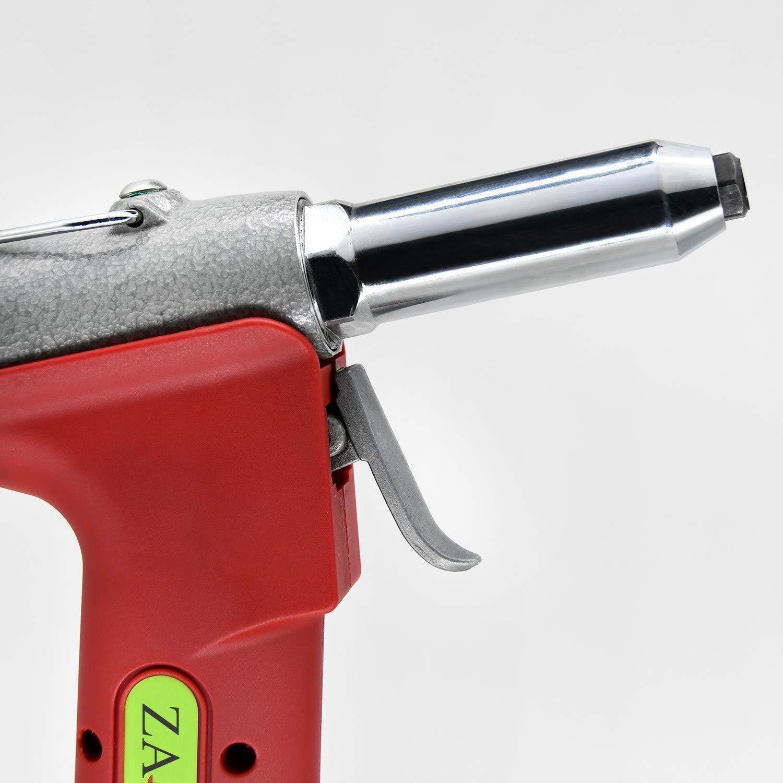 ZHONG AN 1/4-inch Air Rivet Gun-Air Riveter Strong Pull 3086Lbf with 3/4 inch Working Stroke Professional Pneumatic Rivet Gun by ZHONG AN (Image #7)
