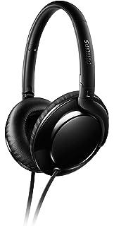 Philips SHL4600BK/00 Auricular Circumaural Diadema Negro - Auriculares (Circumaural, Diadema, Alámbrico