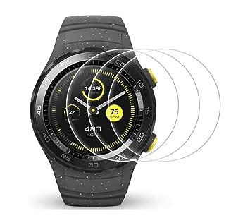 Protector de pantalla para Huawei Watch 2, SOCINY 5 Pack / 3 ...