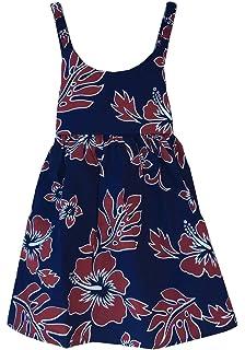 d2acd334a11 Hawaii Hangover Girl Elastic Strap Empire Waist Dress in Classic ...