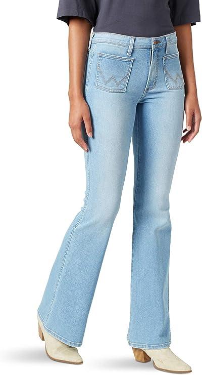 Vintage WRANGLER Denim Jeans  Boyfriend Style  Wide Leg  High Waist