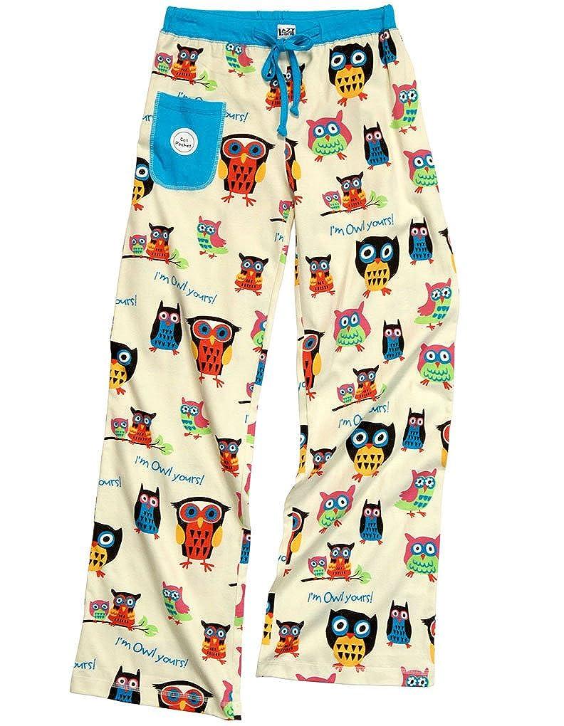 LazyOne Damen Tailliert I'm Owl Yours Pyjama-Hosen Lazy One WPP160