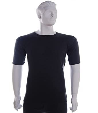 781ad5a44bfc Mens Thermal Short Sleeve T-Shirt Underwear Perfect for Winter, Outdoor  Work, Ski