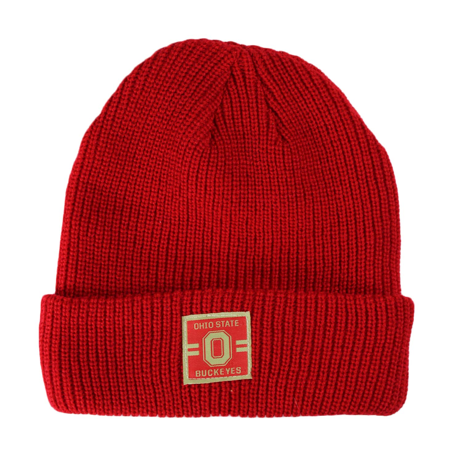 Top of the World Ohio State Buckeyes Official NCAA Cuffed Knit Incline Stocking Stretch Sock Hat Cap Beanie 483979