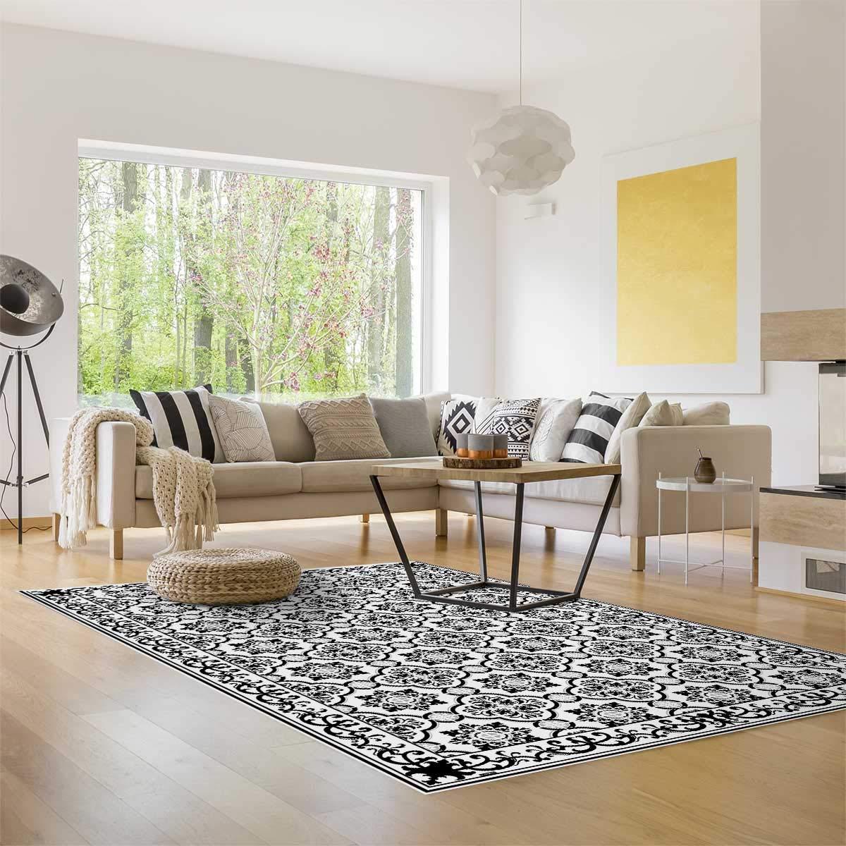MySPOTTi - Buddy Gabriel Gabriel Gabriel Rutschfeste Bodenschutzmatte aus Vinyl Badematte Küchenläufer Wohnzimmer Deko (85 x 65 cm) fa1448
