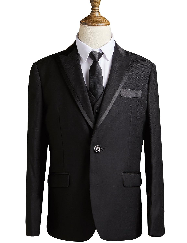 ELPA ELPA Boys Suits Slim Fit Formal Dress Suit for School Graduation Occasion Holiday Wedding NXB0100