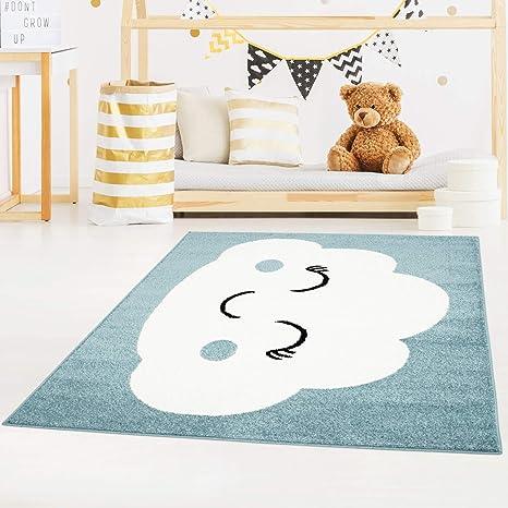 carpet city Bubble Kids Tapis pour Enfant à Poils Plats avec ...