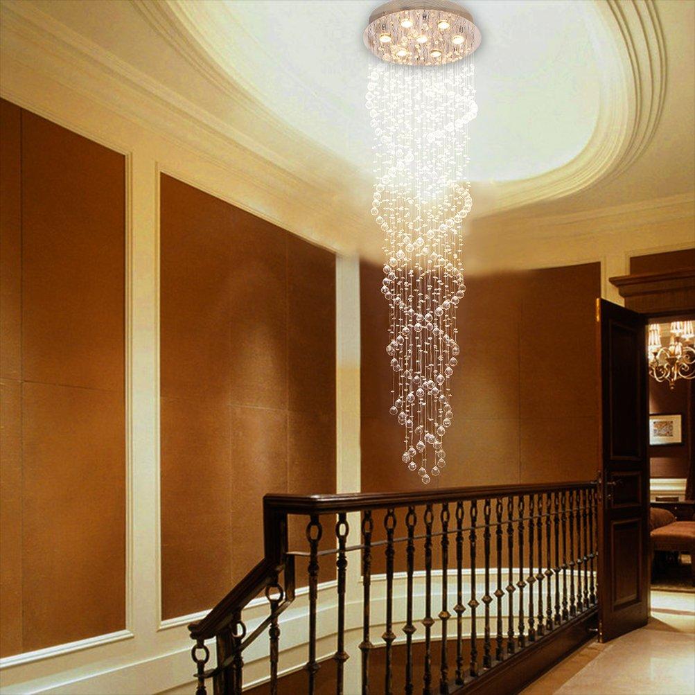 Ella Fashion ® Rain Drop Moderne LED-Licht-Kristall Kugel Fassung ...