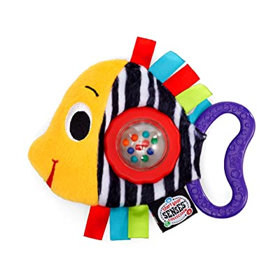 Bright Starts Start Your Senses Shake, Rattle and Swim (Discontinued by Manufacturer) : Plush Toys : Baby