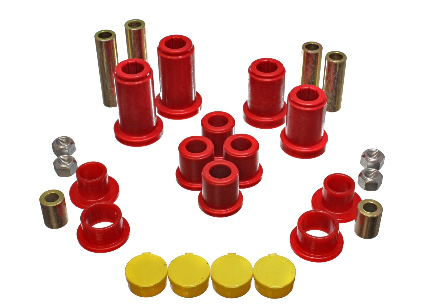 Energy Suspension 3.3190R Front Control Arm Bushing Set for Silverado/K1500 4WD