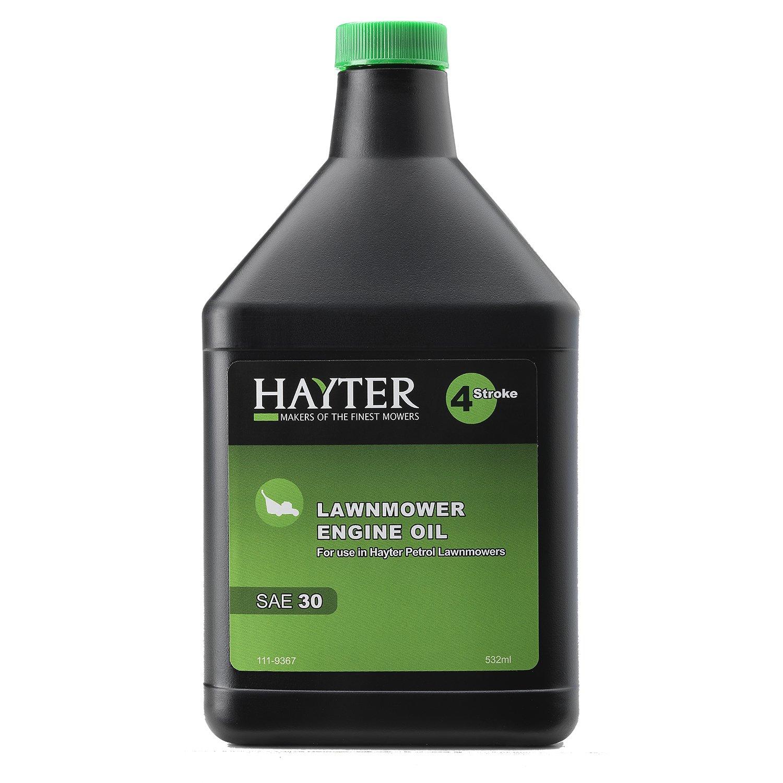 Hayter 111 - 9367 cortacésped del aceite del motor, Negro ...