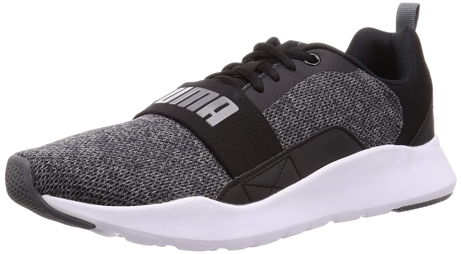 Puma Wired Mesh 2.0, Zapatilla, Puma Black-Castlerock, Talla 11 UK (46 EU): Amazon.es: Deportes y aire libre