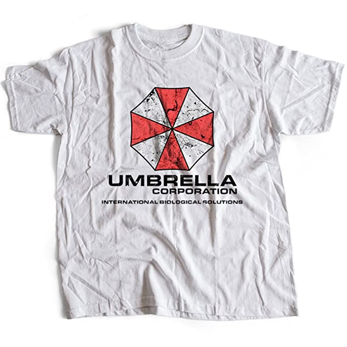 9138w Umbrella Corporation Mens T-Shirt Resident Evil Racoon City Stars Corp Sci-Fi