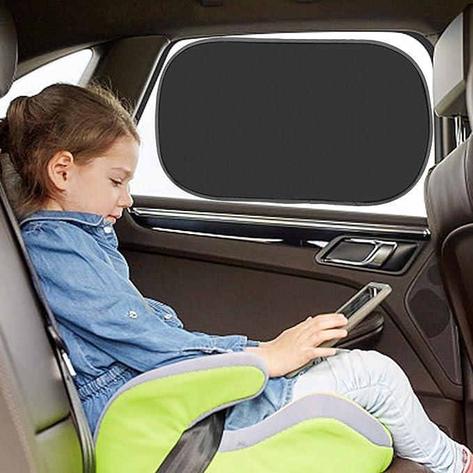 Specchio per seggiolino posteriore con protezione solare per auto con protezione UV specchio per protezione per bambini orientabile a 360 /°, EletecPro specchietto retrovisore bambini