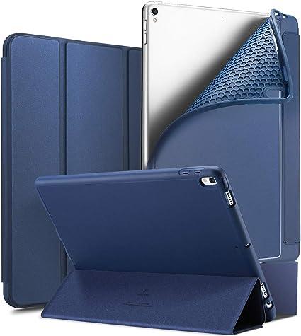LHZTZKA iPad Pro 10.5 TPU Estuche Ultra Delgado, Estuche para Tableta, FuncióN Inteligente Inteligente De ActivacióN/FuncióN del SueñO, Compatibilidad Ranura para LáPiz AnticaíDa: Amazon.es: Electrónica