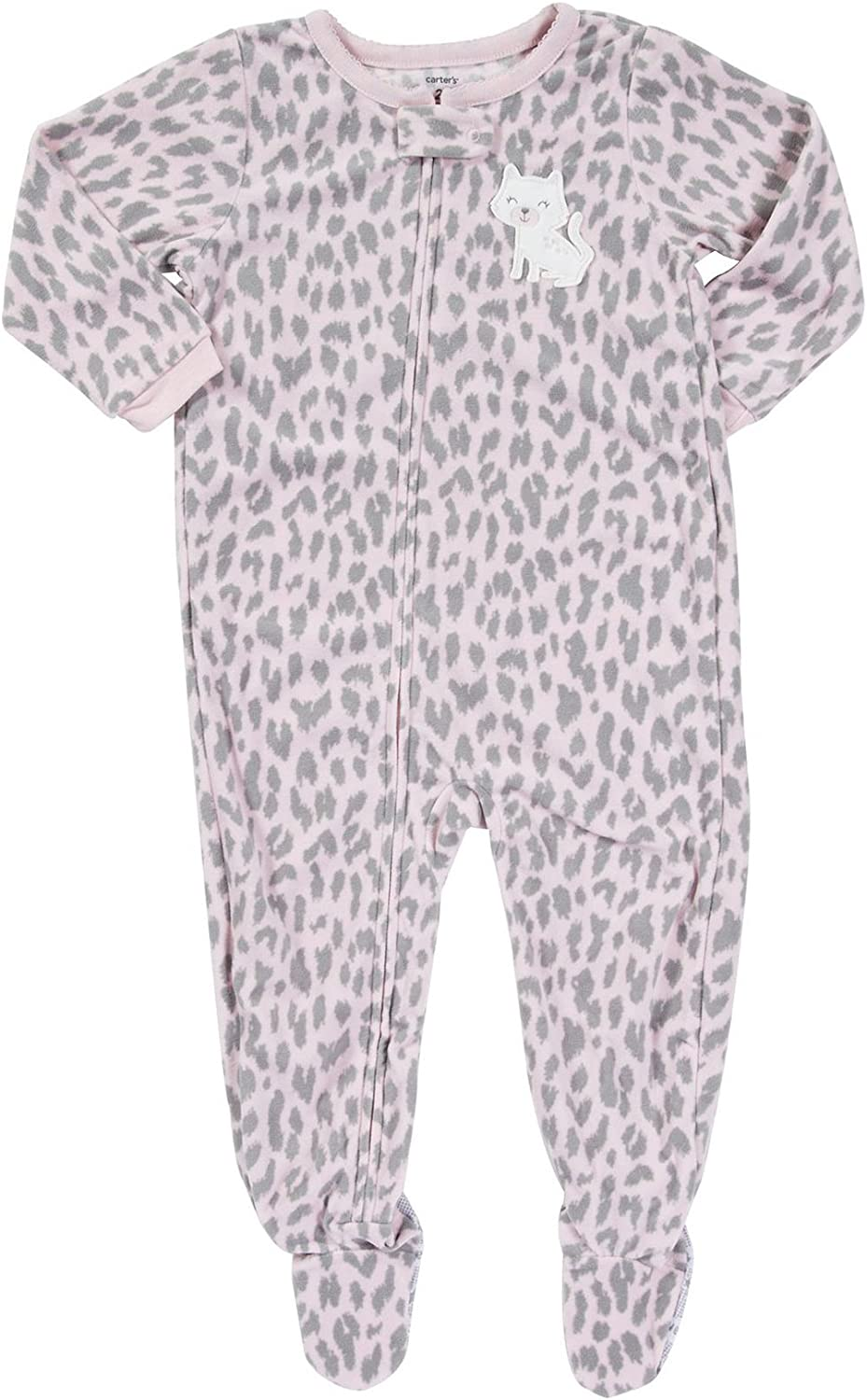 Amazon.com: Carter's Baby Girls' L/s Footed Blanket Sleeper: Clothing