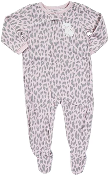 Amazon.com  Carter s Baby Girls  L s Footed Blanket Sleeper  Clothing 48e9220c4