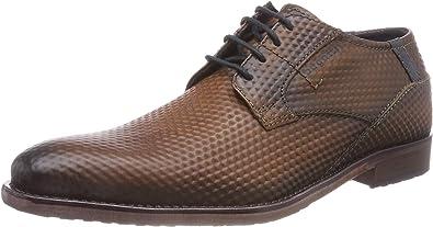 TALLA 44 EU. bugatti 311297051200, Zapatos de Cordones Derby para Hombre