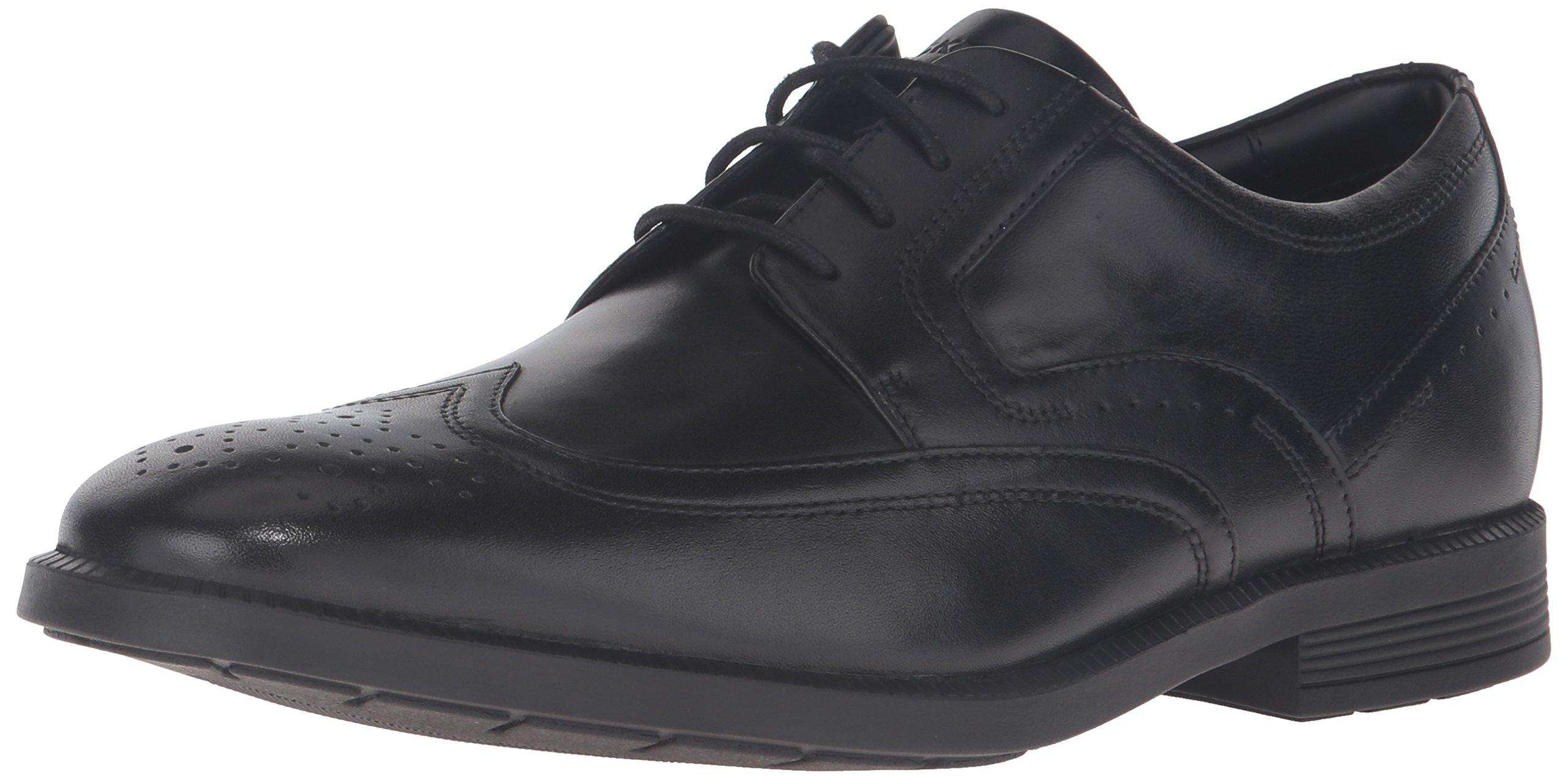Rockport Men's Dressports Business Wing Tip Oxford, Black, 10.5 Medium US by Rockport
