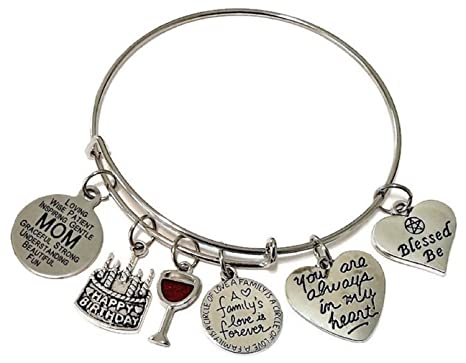Amazon Kits Kiss Mom Bracelet Jewelry Birthday Gift For
