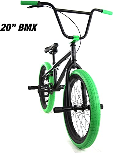 Elite 20 16 BMX Bicycle The Stealth Freestyle Bike