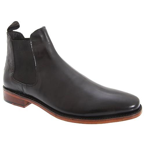49f1ed31c1f9 Kensington Classics Mens Twin Gusset All Leather Chelsea Boots  Amazon.co.uk   Shoes   Bags