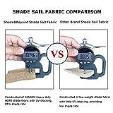 Shade&Beyond 2 Pcs 12'x12'x12' Sun Shade Sail