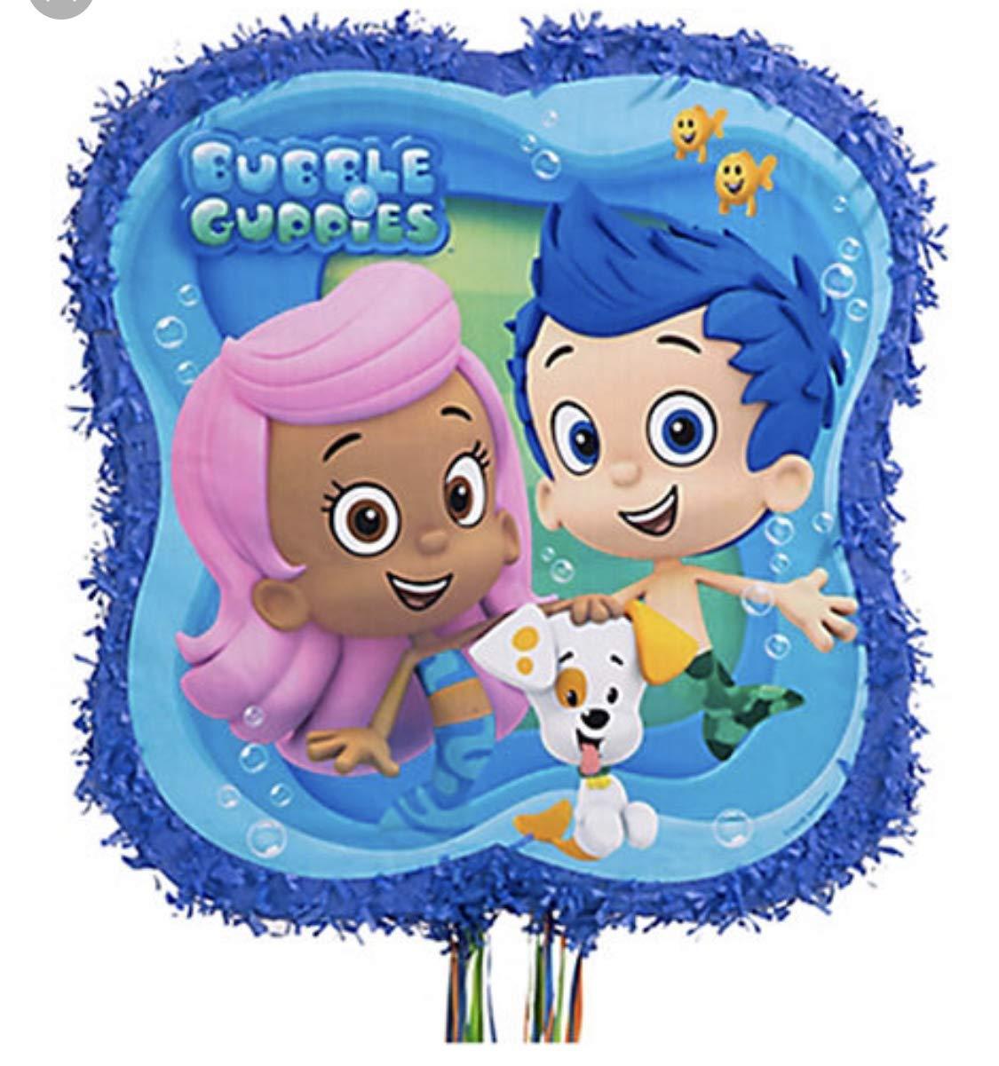 Bubble Guppies Outline Pinata