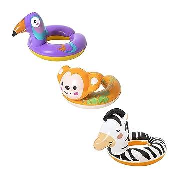 Bestway 91083 Minnie - Bote Hinchable para niños (112 x 71 ...