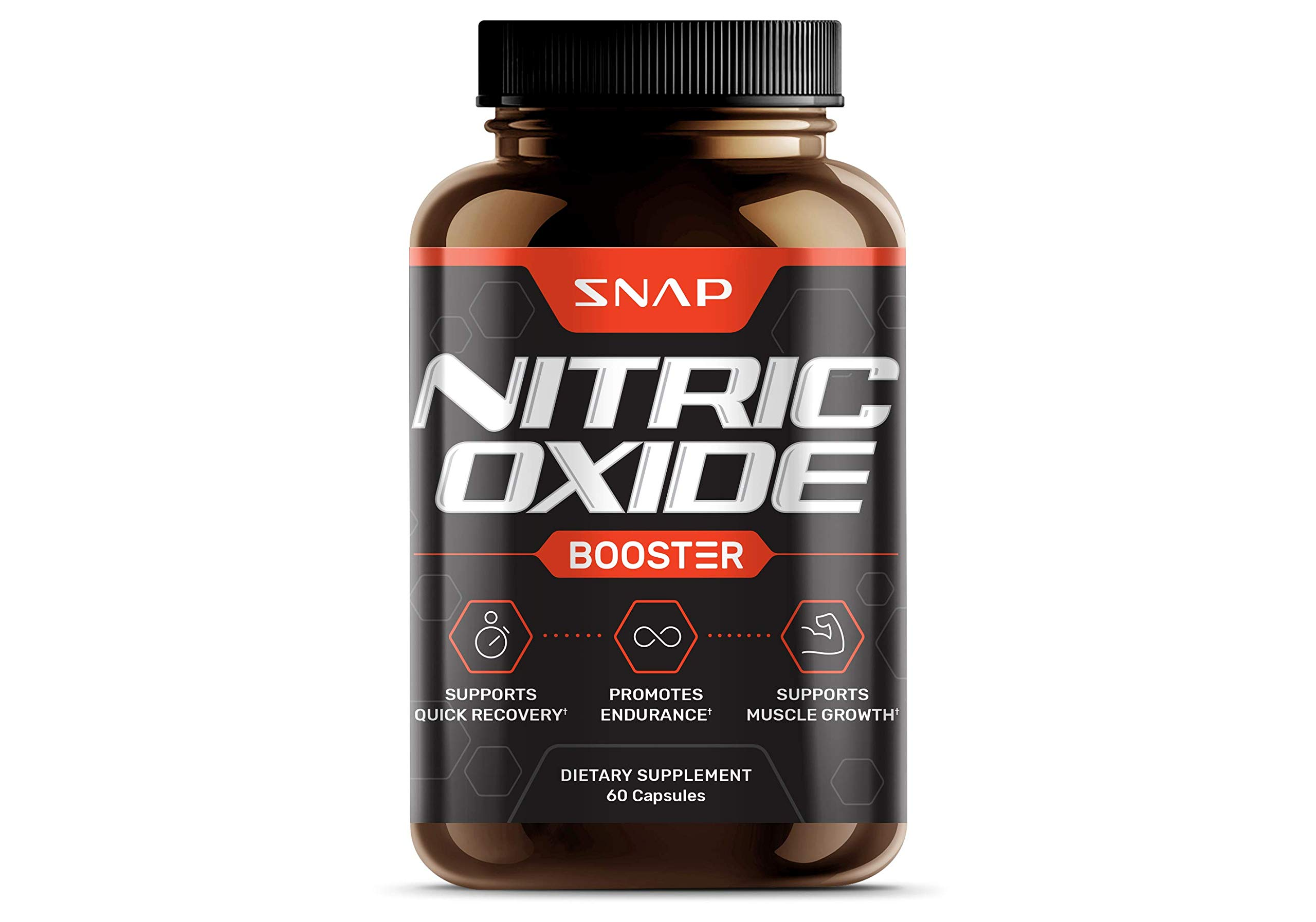 Nitric Oxide Supplements - L Arginine, L Citrulline 1500mg Formula - Tribulus Extract & Panax Ginseng - Muscle Builder for Strength and Endurance, Pre-Workout Supplements - 60 Capsules