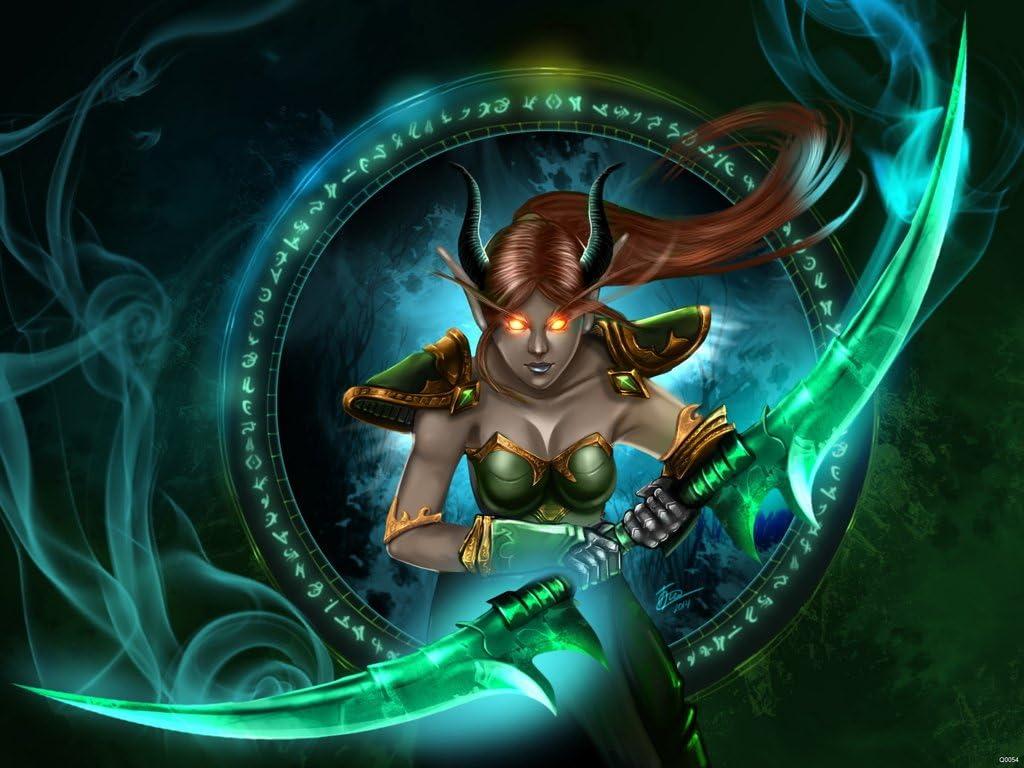 Amazon Com World Of Warcraft Demon Hunter Illidan Azzinoth Sexy