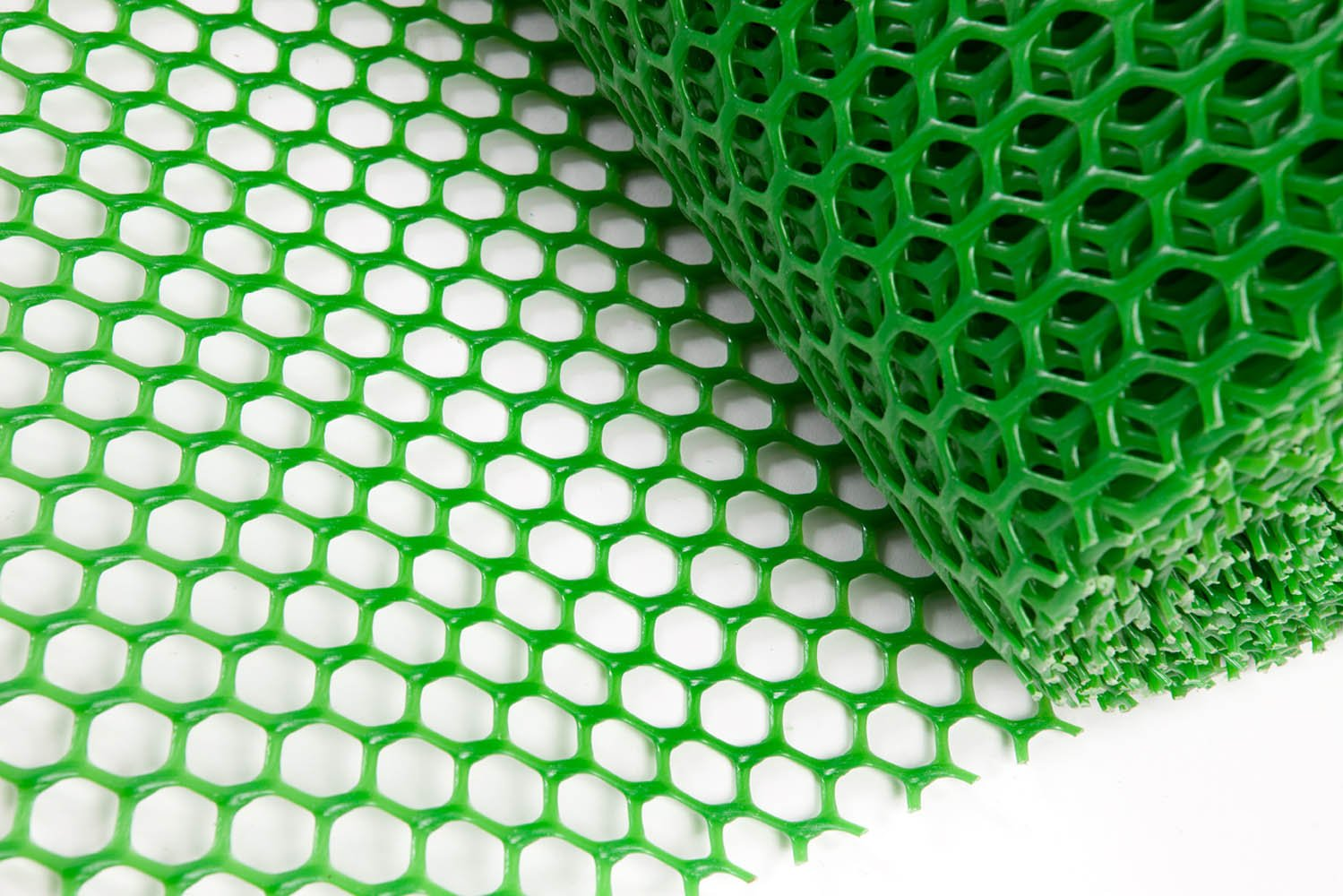 Easimat Grass Protection Mesh for Lawn or Car Park Reinforcement Green Plastic (10m)
