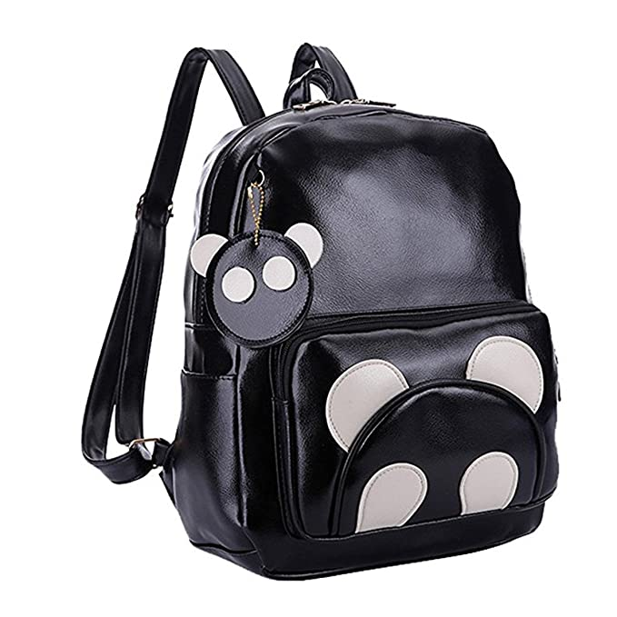 On Clearance matching in colour good looking YQWEL Cute Cartoon Animal Panda Backpack Purse Leather Mini Casual Daypack