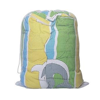 Bolsa de red Tenn Well para lavar la ropa, duradera, con cierre de ...