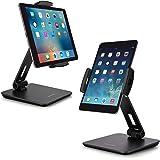 "AboveTEK Business Kiosk Aluminum Tablet Stand, 360° Swivel Tablet & Phone Holders for Any 4-14"" Display Tablets or Cell…"