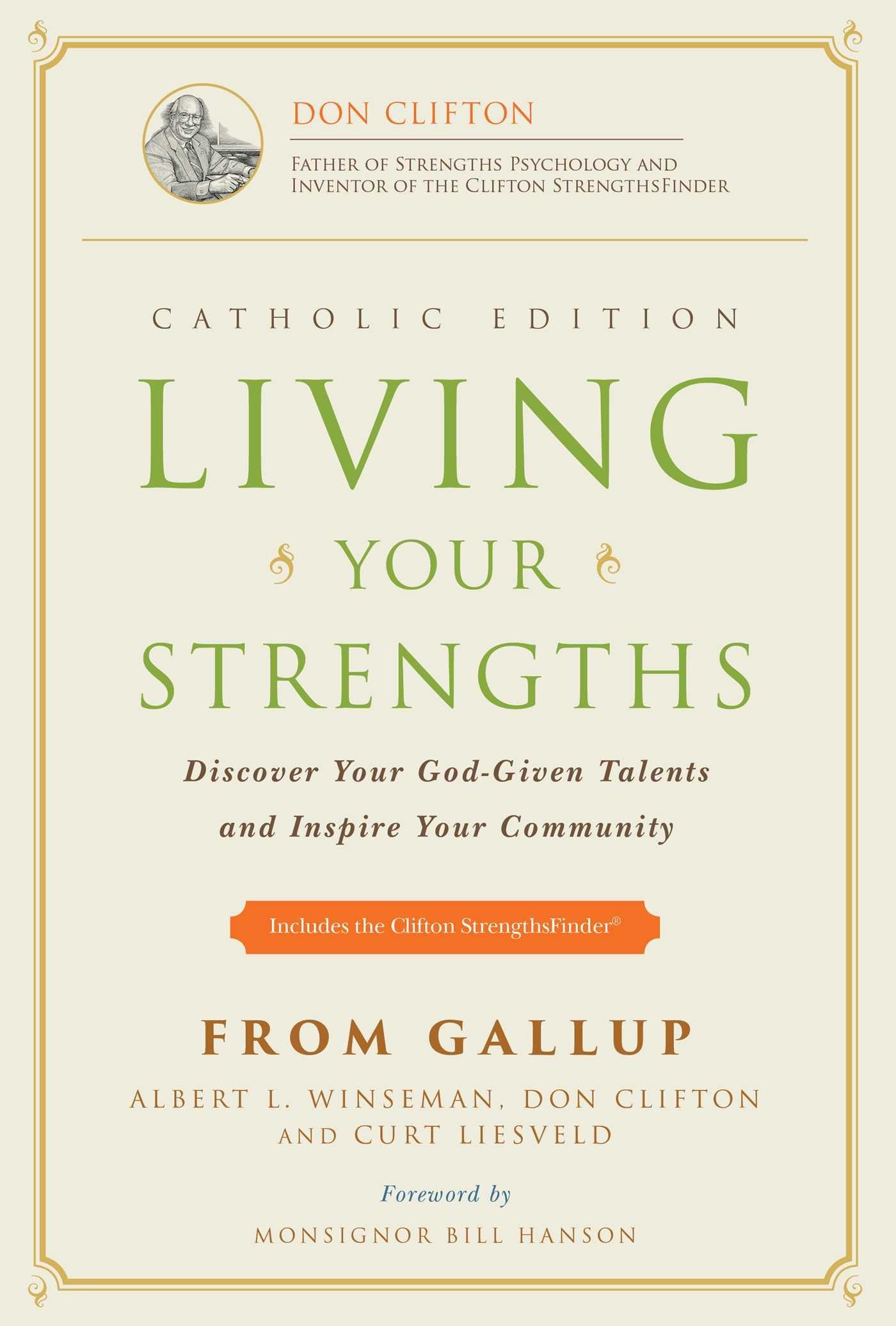 Living Your Strengths - Catholic
