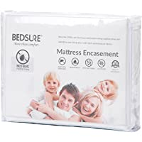Premium And Noiseless Mattress Encasement with zippered-Waterproof/Bed Bug/Dust Mite Proof