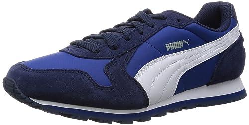 Puma ST Runner NL, Unisex Adults Running Shoes, Blue (Limoges/White)