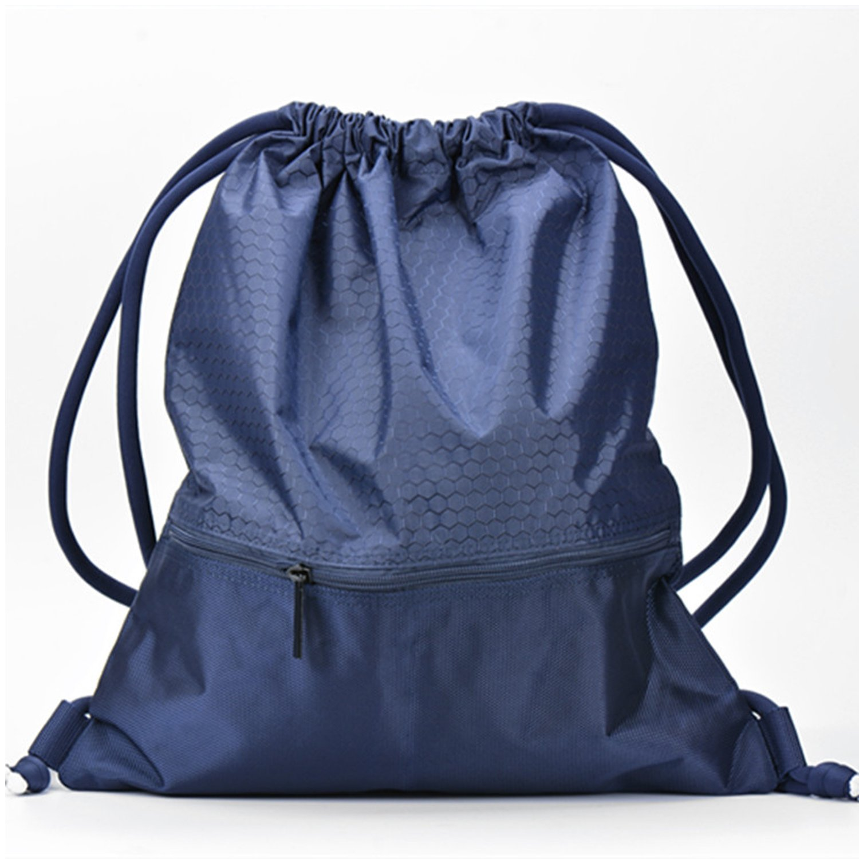 669ee2ec439e ESVAN proof Gymbag Large Drawstring Backpack Gymsack Sackpack For ...
