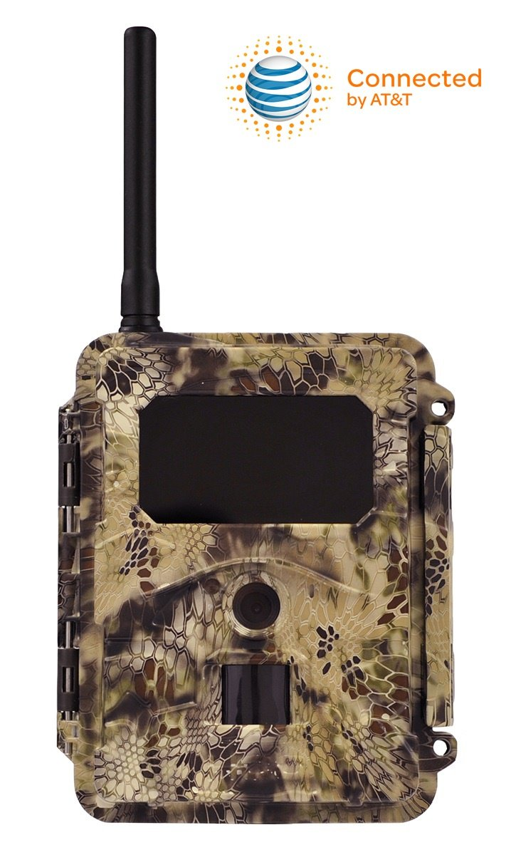 HCO Spartan GoCam Mobile Wireless Blackout IR Flash Game Trail Camera, Kryptek Camo - AT&T- GC-ATTxB by HCO Outdoor Products (Image #1)