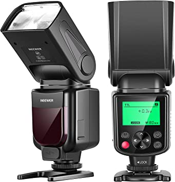 Neewer NW635 TTL Flash Speedlite Automático GN58 con Pantalla LCD ...
