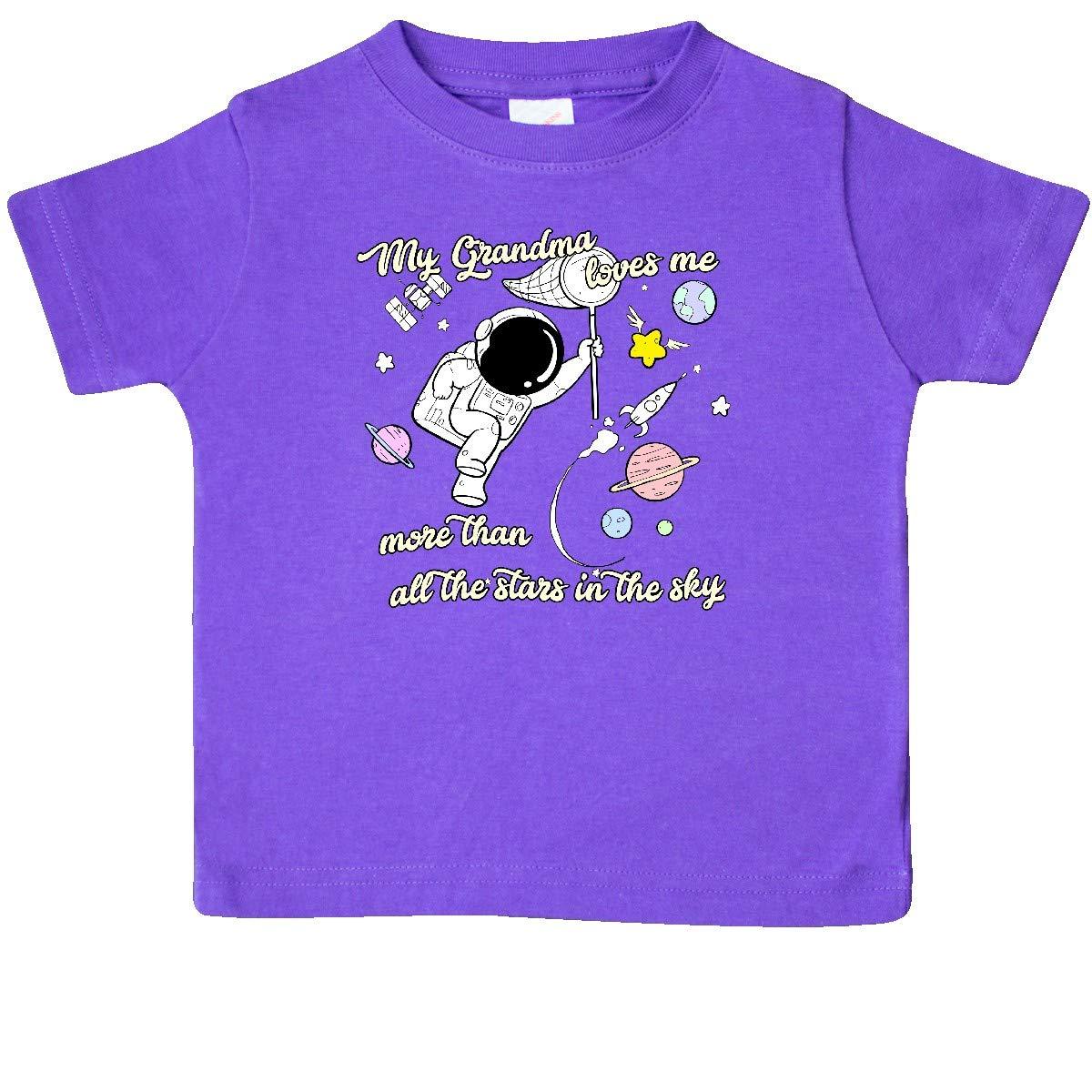 inktastic My Grandma Loves Me Baby T-Shirt