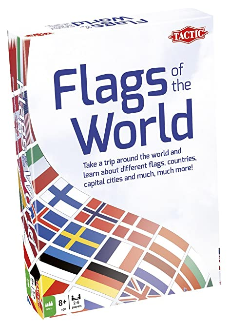 Flags Of The World Educational Game Amazoncouk Toys Games - Capital cities of the world game