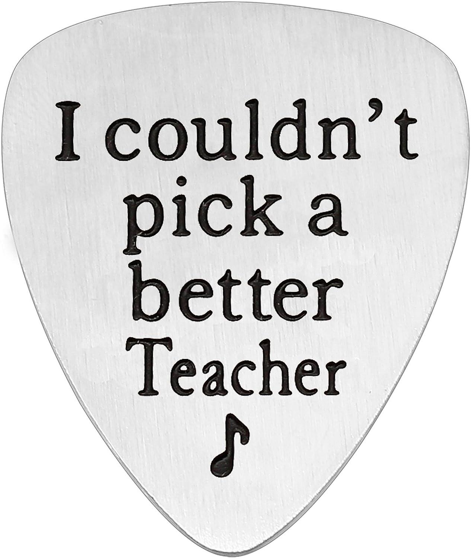 Púa de guitarra para profesor, regalo para el día del profesor, de ...