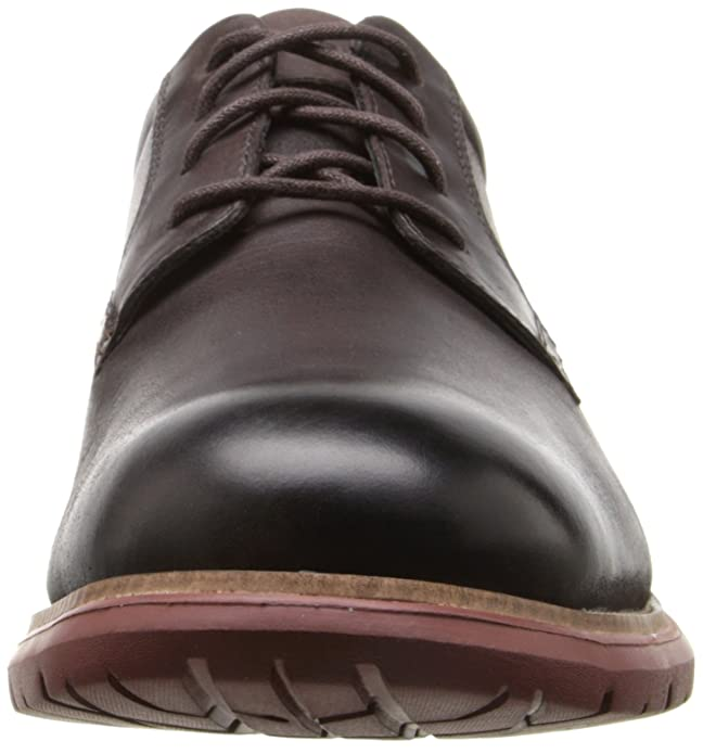 Rockport TOTAL MOTION plain-toe Oxfords, Chocolate amargo oscuro, 16 W (EE)