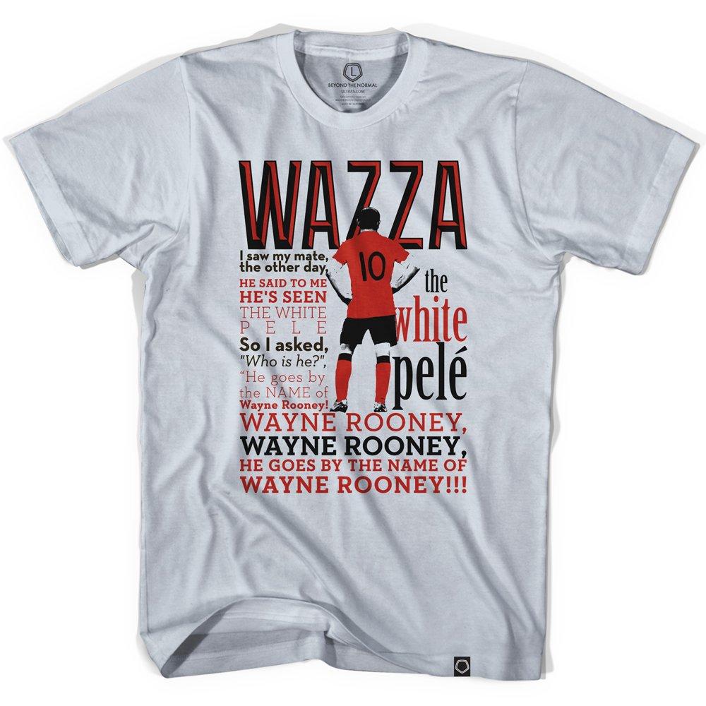 Wayne Rooney blanco camiseta de fútbol Pelé gris Cool Grey ...
