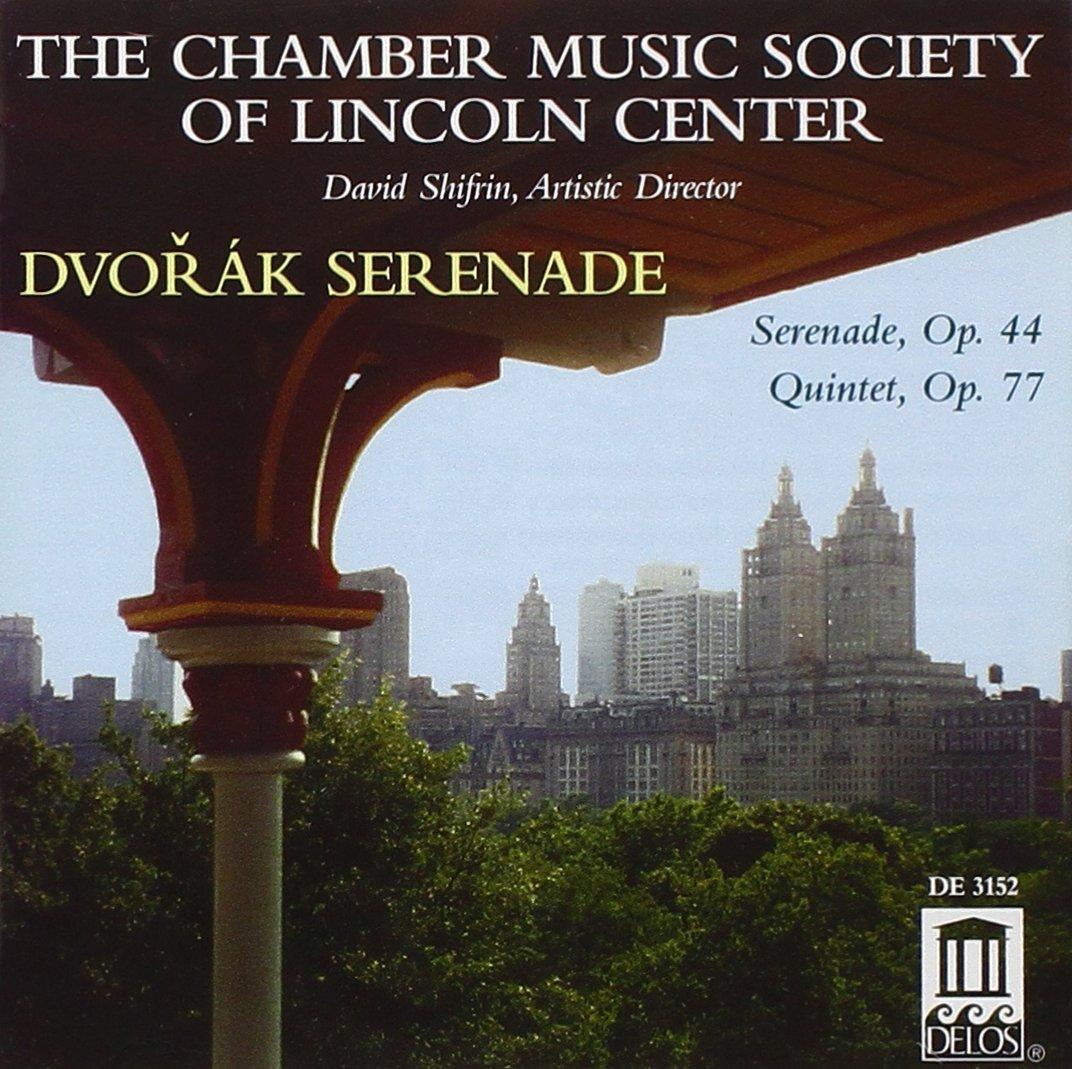 Dvorak Serenade: Serenade Op. 44, Quintet Op. 7
